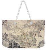 Map Of China, 1734 Weekender Tote Bag