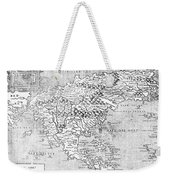 Map Of New France, 1566 Weekender Tote Bag