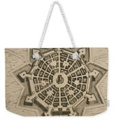 Map Of Palmanova Weekender Tote Bag by French School