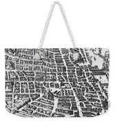 Map Of Paris Weekender Tote Bag by German School