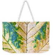 Maple Leaf Weekender Tote Bag