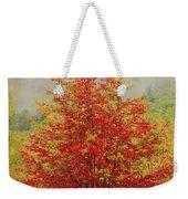 Maples In The Mist Weekender Tote Bag