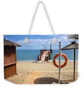 Marbella Beach In Spain Weekender Tote Bag