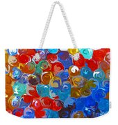 Marble Collection Abstract Weekender Tote Bag