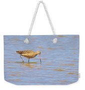 Marbled Godwit Searching For Food Weekender Tote Bag