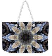 Marbled Mandala - Abstract Art Weekender Tote Bag