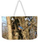 March Bluebird Weekender Tote Bag