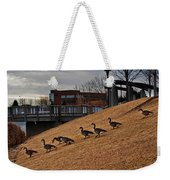 March To The Water Weekender Tote Bag