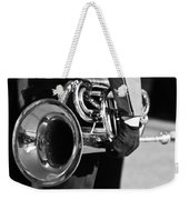 Marching Band Horn Bw Weekender Tote Bag