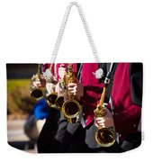 Marching Band Saxophones  Weekender Tote Bag