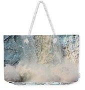 Margerie Glacier Calving Weekender Tote Bag