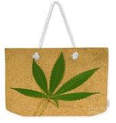 Marijuana Leaf Weekender Tote Bag