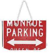 Marilyn Monroe Parking Weekender Tote Bag