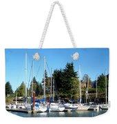 Marina At Cascade Locks Weekender Tote Bag