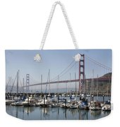 Marina At Golden Gate Weekender Tote Bag