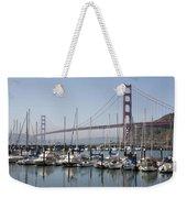 Marina At Golden Gate Weekender Tote Bag