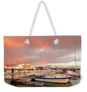 Marina In The Azores Weekender Tote Bag