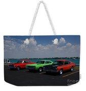 Marine City Car Show Weekender Tote Bag