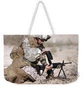 Marine Gives Instructions On How Weekender Tote Bag