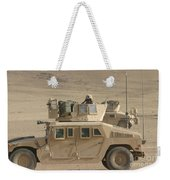Marine Looks For Suspicious Activity Weekender Tote Bag