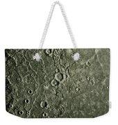 Mariner 10 Mosaic Of Mercury Showing Weekender Tote Bag