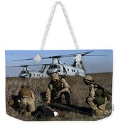 Marines And Sailors Being Transported Weekender Tote Bag