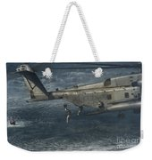 Marines Conduct Insertion Exercises Weekender Tote Bag
