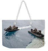 Marines Depart The Well Deck Weekender Tote Bag