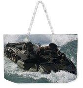 Marines Drive An Amphibious Assault Weekender Tote Bag