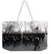 Marines Participate In The 2009 Weekender Tote Bag