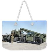 Marines Pick Up Palletized Logistics Weekender Tote Bag