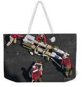 Marines Push Pordnance Into Place Weekender Tote Bag