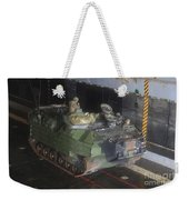 Marines Wait To Launch Their Amphibious Weekender Tote Bag