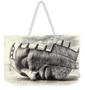 Maritime Memorial Cardiff Bay Opal Weekender Tote Bag