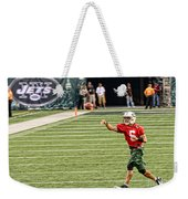 Mark Sanchez Ny Jets Quarterback Weekender Tote Bag