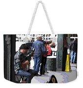 Market Busker 2 Weekender Tote Bag