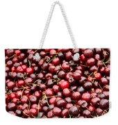 Market Cherries Weekender Tote Bag