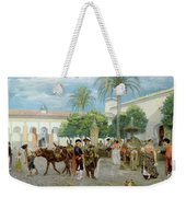 Market Day In Spain Weekender Tote Bag
