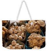 Market Mushrooms Weekender Tote Bag