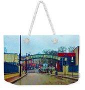 Market Street From Penns Landing Philadelphia Weekender Tote Bag