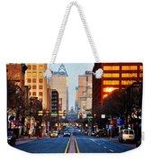 Market Street In The Morning Weekender Tote Bag