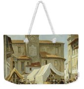 Marketday In Desanzano  Weekender Tote Bag