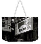 Marlboro In Hong Kong Weekender Tote Bag