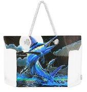 Marlin Moon Mens Shirt Weekender Tote Bag