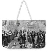 Marriage Contract, 1645 Weekender Tote Bag