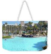 Marriott Hotel Swimming Pool Panorama Orlando Fl Weekender Tote Bag