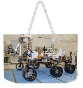 Mars Science Laboratory Rover Weekender Tote Bag