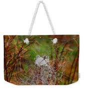 Marsh Spider Web Weekender Tote Bag