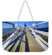 Marshal Point Lighthouse Walkway Weekender Tote Bag