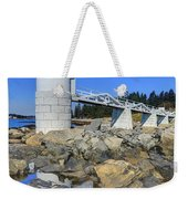 Marshall Point Light Reflection Weekender Tote Bag